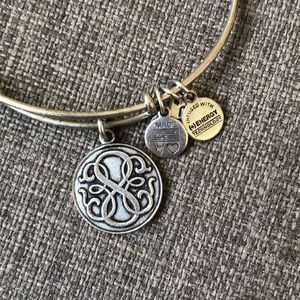 Alex and Ani Silver Path of Life Bracelet